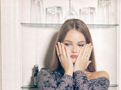 """puppetwithapistol: Vanessa Paradis in """"Parody of Cirtue"""" by John Stoddart for Arena UK, November Vanessa Paradis, Young Johnny Depp, Lily Rose Depp, Celebs, Celebrities, Girl Crushes, Portrait, Style Icons, My Girl"""
