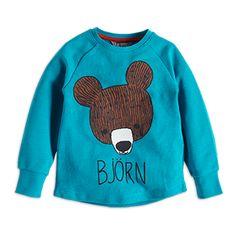 Sweatshirt+with+Print+-+Lindex