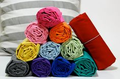 Fitted Crib Sheets in so many different colors and designs! @Etsy #cribsheets #quality #nursery