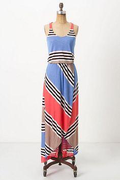 Between Lines Maxi Dress - Anthropologie.com