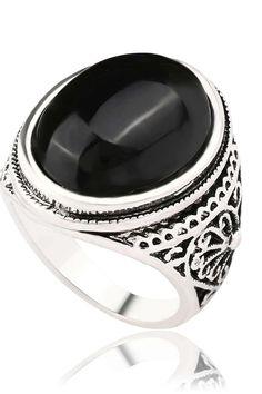 #onyx #ring #jewelry #rings #gold #handmade #wedding #accessories #style #silver Onyx Ring, Handmade Wedding, Wedding Accessories, Jewelry Rings, Silver, Gold, Style, Swag, Money