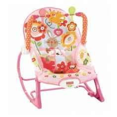 HAMACA FISHER-PRICE CRECE CONMIGO: barra de juguetes desmontable, para que el bebé pueda jugar cómodamente. Patas desplegables y asiento reclinable para dar de comer al bebé o acunarlo.