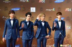 CNBLUE at the 2013 Golden Disk Awards in Malaysia!