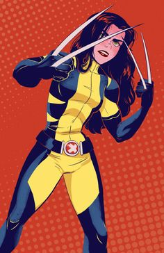 All-New Wolverine - Janet Chan