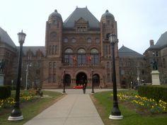 Ontario Legislature. Ontario, Canada, Mansions, House Styles, Home Decor, Decoration Home, Manor Houses, Room Decor, Villas