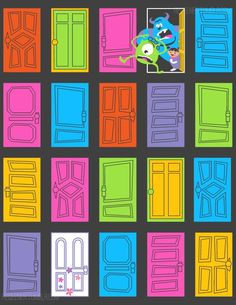My Monsters Inc/Threadless submission! PLEASE VOTE FOR ME HERE: [link] Monsters Inc. is one of my favorite Pixar movies, the door room scene at the end . Monster Inc Birthday, Monster Inc Party, Cute Wallpapers, Wallpaper Backgrounds, Iphone Wallpaper, Cute Disney, Disney Art, Disney And Dreamworks, Disney Pixar