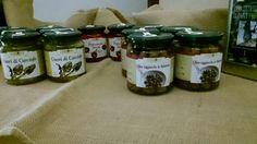 Olive taggiasche in salamoia e altre conserve