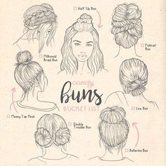 Types of buns - #buns #ilustration #Types,Types of buns - #buns #ilustration #Types...