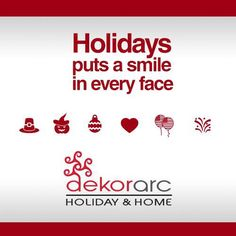 Holidays puts a smile in every face. NOW OPEN!