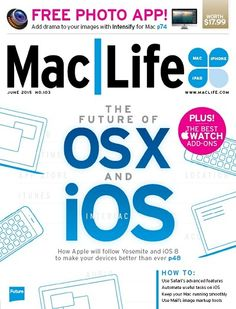 MacLife USA – June 2015-P2P Free Download