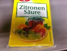 Zitronensäure vielseitig im Haushalt einsetzen ~  Citric acid can be used for many things!