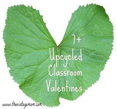 7  Upcycled Classroom Valentines | The Vintage Mom #ValentinesDay #DIY #KidCrafts
