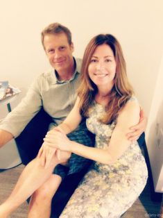 Mark Valley and Dana Delany from Body of Proof---a great team and i wish they would have made them a couple..i love this show.