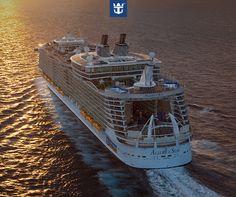 Em 2015, o Allure of the Seas, o maior navio de cruzeiro do mundo, estará pela primeira vez na Europa!