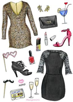 It's no secret that we love to outfit ladies for the holidays! From sequins to lace, sexy heels, and more, we're rolling out your party perfect looks!