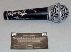 The Saturday's Autographed Microphone Mollie King, Frankie Sandford, Rochelle Wiseman, Una Healy, Vanessa White Memorabilia Lane & Promotions