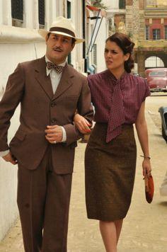 El vestuario de Sira Quiroga en El tiempo entre costuras: un estilo vintage de los años 30 y 40