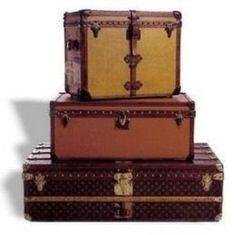 206ec1bd826a 60 Best Louis Vuitton images   Baggage, Louis vuitton trunk, Vintage ...