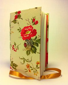 Floral Notebook / Journal bound with lined by Newleafjournals, $34.50