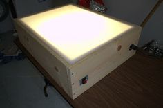 The Hindenburg Principle: Instructions for Building a Light Tracing Box