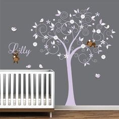 Children Wall Decals Vinyl wall decal Tree with by Modernwalls, $129.00