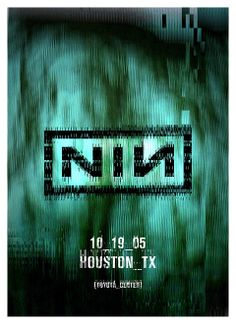 Nine Inch Nails Poster Music Posters, Concert Posters, Toyota Center, Nine Inch Nails, Indie Pop, Jazz Blues, Iphone Wallpapers, Flyers, Grunge