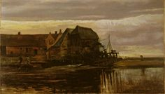Genneper watermolen - Vincent van Gogh 1884