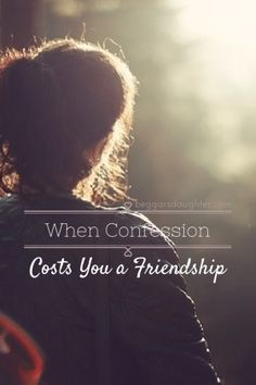 When Confession Costs You a Friendship - Beggar's Daughter