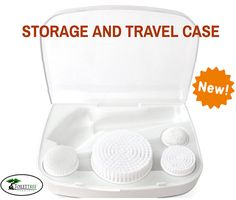 Already own the ToiletTree Products Professional Skin Care System? Be sure to get our Storage and Travel Case - it includes $21 worth of replacement heads. #skincare