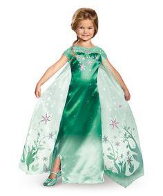 Love this Elsa Frozen Fever Deluxe Dress-Up Set - Toddler & Kids on #zulily! #zulilyfinds