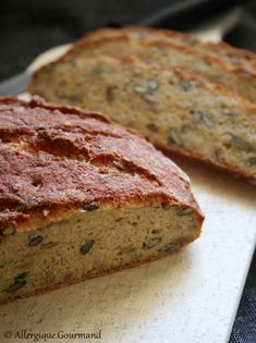 Recettes Anti-candida, Pains Sans Gluten, Dairy Free, Gluten Free, Egg Free, Biscuits, Banana Bread, Lactose, Nutrition
