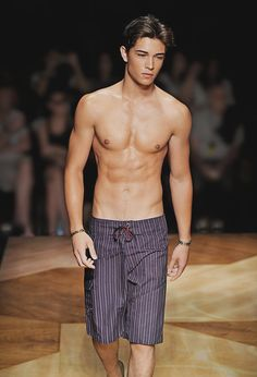 Francisco Lachowski. Need to hit the gym more often, also I really want a tan. But to much Vit D can be bad, but what the heck I'm getting my tan on haha