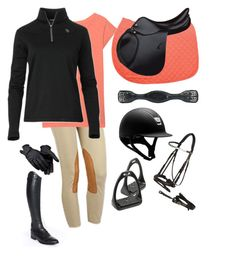 """""""Morning ride"""" by cattlelife ❤ liked on Polyvore featuring True Religion, Ariat, Shock Absorber and Parlanti"""