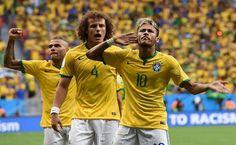 Mundial 2014. Camerún 1-4 Brasil.