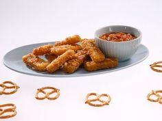 the Kitchen Sink show Food Network Pretzel Pepper Jack Cheese Sticks