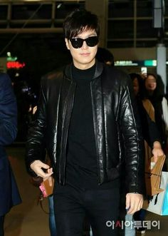 Lee Min Ho | At Incheon airport going to Guangzhou for RE:Minho Concert 10.25.2014