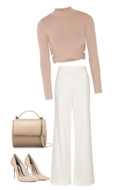 """Meeting Today"" by carlafashion-246 ❤ liked on Polyvore featuring Jonathan Simkhai, Topshop, Sophia Webster and Givenchy"