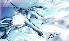 Glaceon's Ice Shard by JA-punkster on deviantART