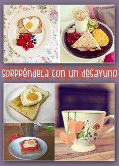 Ideas originales para el día de la madre ¿tienes la tuya? Sorpréndela con un desayuno Que Horror, Ideas Originales, Snack, Valentines, Mom, Breakfast, Funny, Inspiration, Creative Decor