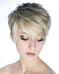 Short Haircut with Choppy Layers