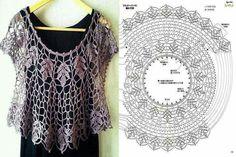 Crochet free pattern with diagram