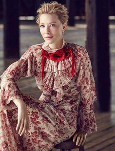 Cate Blanchett, Vogue Australia, Foto Fashion, High Fashion, Floral Fashion, Womens Fashion, Helena Christensen, Mode Editorials, Fashion Editorials