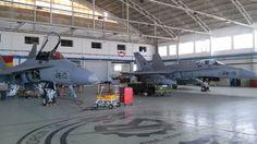 C-15A-82 y C-15A-87 en mantenimiento