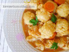 Karnabahar Yemeği Tarifi - Kevser'in Mutfağı - Yemek Tarifleri