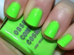 Win one of OCC nail polish in Deven Green ^_^ http://www.pintalabios.info/en/fashion_giveaways/view/en/1657 #International #Nails #bbloggers #Giveaway