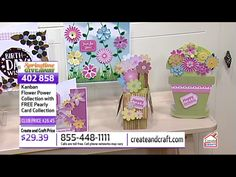 Kanban Crafts, Create And Craft, Spring Time, Flower Power, Flowers, Cards, Free, Maps, Royal Icing Flowers