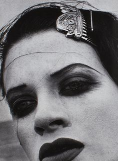 Comme des Garçons 1990  Photographer : Peter Lindbergh Model : Kristen McMenamy