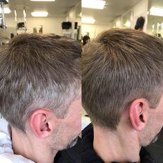 #coiffurecitylangenthal #grauhaarkaschierung #mencolor #vibrance #schwarzkopfproch #unschlaghaarschön Make Up, Hairstyle, Grey Hair, Beauty Makeup, Makeup, Maquiagem