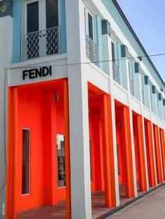 Fendi's Cuban-inspired facade