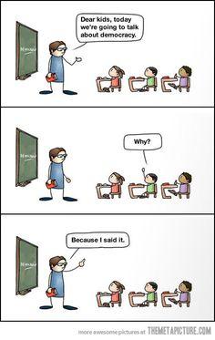 Teaching nowadays…